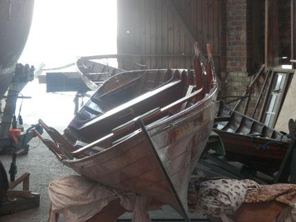 Thames Skiff Restoration